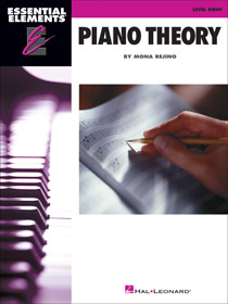 Essential Elements Piano Theory Level 8